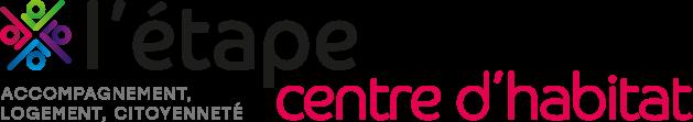 logo l'étape centre d'habitat